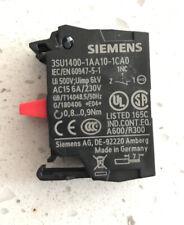 New Siemens Contact Module 3su1400 1aa10 1ca0