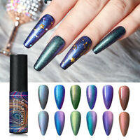 MSRUIOO 5ml Chameleon UV Nail Gel Polish Transparent Glitter Shimmer Gel Varnish
