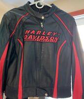 Harley-Davidson Womens 3-in-1 Purple Leather Jacket 97089-16VW