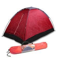 2 Mann Tenda Campeggio, ( Lxwxh ) 2x1, 2x1 M Cupole da Due Igloo Rosso