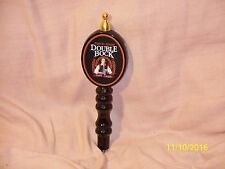 "Vintage Samuel Adams Double Bock Dark Lager Beer Tap Handle Knob Black 10"" Tall"