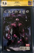 Clayton Crain signed CARNAGE #5 CGC Spider-Man CBCS Venom Avengers Endgame