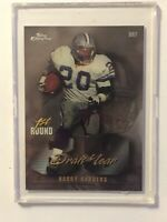 1997 Topps Chrome Draft Year Troy Aikman/ Barry Sanders #DR7 Football Card NM/M