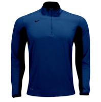 Nike Dri-Fit Textured 1/2 Zip Training Top Navy Blue (642042-419) Men's Size M