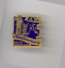 2001 Disney 18th Anniversary Tokyo Disneyland Partners Walt Mickey Mouse Le Pin