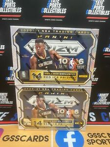BOSTON CELTICS PRIZM BASKETBALL 2020-21 2 MEGA BOX TEAM BREAK NBA #954