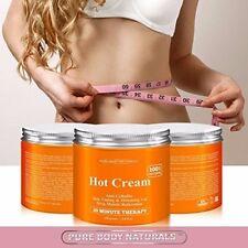 Crema Natural Caliente para Reducción de Celulitis, Tonificación, Adelgazamiento