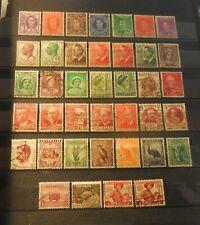 """(39) Vintage """"Australia"""" Stamps (1930's -1950's) = Used"""