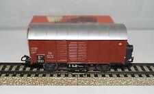 MÄRKLIN MARKLIN H0 : 4505 306 vagone merci chiuso DB con luci ottimo: anno 1957
