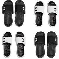 Under Armour UA Mens Sliders Slides Shoes Playmaker Slip On Sandals Flip Flops