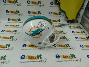 Oliver Vernon Autograph Miami Dolphins  Full Size Football Helmet With COA