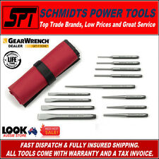 GEARWRENCH PUNCH & CHISEL SET WITH STORAGE POUCH 12 PIECE SET 82305 - BRAND NEW