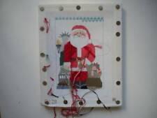 Usa Santa Needlepoint Canvas Kathy Schenkel