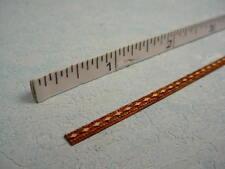 Dollhouse Miniature Decorative Trim - Mini-Diamond Design - Laser Etched
