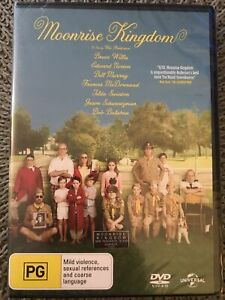 Moonrise Kingdom DVD (Regions 2 & 4, 2012) Bruce Willis & Edward Norton ~ Sealed