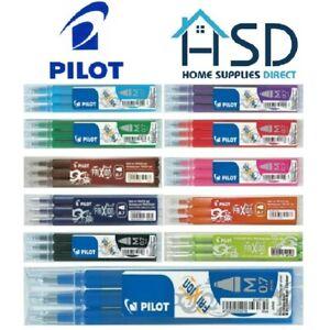 Pilot FriXion 0.7 Erasable Rollerball Clicker Pen Replacement Refills Cartridges