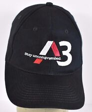 Black Audi A3 Stay Uncompromised embroidered baseball hat cap adjustable