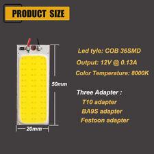 12V 36 LEDs Car Vehicle LED COB Blue Dome Map white Interior Panel Lamp RT0833
