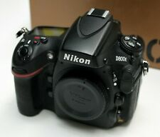 Nikon D800E Body Only 36.3MP Digital SLR Camera Boxed Excellent