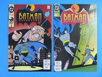 BATMAN ADVENTURES #1 & #2 DC MODERN AGE COMIC BOOK 1992 ~ High Grade NM/MT