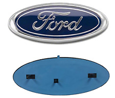 FORD 9 INCH BLUE OVAL FRONT GRILLE OR REAR TAILGATE EMBLEM fits  4L3Z-1542528-AB