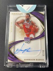Harrison Barnes - 2019 Immaculate Basketball - Auto #/99