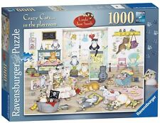 Ravensburger puzzle * 1000 piezas * Crazy Cats in the Playroom * Linda Jane Smith * OVP