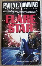 Flare Star by Paula E. Downing PB 1st Del Rey - cry wolf