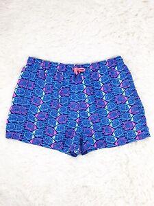 Vineyard Vines Performance Kids Girls Angelfish Swim Beach Trunks Shorts Size XL