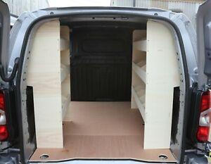 Citroen Berlingo SWB 2011-2018 DOUBLE Van Racking Shelving Tool Storage