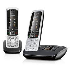 Siemens Gigaset C430 A Duo schnurloses Telefon mit Anrufbeantworter