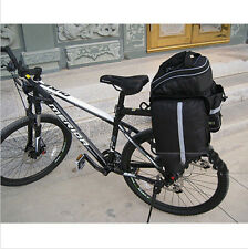 2015 Waterproof Cycling Bicycle Bike Rear Seat trunk Bag Handbag Pannier  Tb