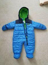 Carter's One-Piece Snowsuit Blue, Navy & Green 6-9 Months