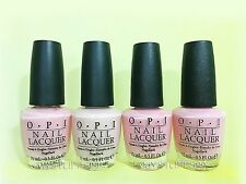 Opi Nail Lacquer *Pink Collection - Soft Shades 2010* 4 Shades Set New Free Ship