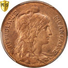 Monnaies, France, Dupuis, 5 Centimes, 1900, Paris, PCGS, MS64RB, SPL+ #96344