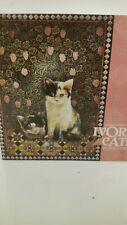 "Ceaco Puzzle Ivory Cats Dandelion on William Morris 2006 1k Pcs 20 X 27"""