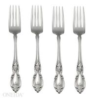 Oneida Louisiana Fine Flatware Set, 18/8 Stainless, Set of 4 Dinner Forks