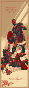 GLADIATOR by Martin Ansin print MONDO SOLD OUT