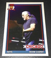 PEARL JAM Wrigley Baseball Card - Boom Gaspar 7 open - 2016 Chicago pack cubs