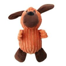 Funny Soft Pet Puppy Chew Play Squeaker Squeaky Cute Plush Sound Dog Toys JH