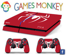 Skin PS4 OLD - SPIDERMAN - Cover Adesiva Vinile Lucido HD Playstation 4