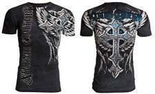 XTREME COUTURE by AFFLICTION Men's T-Shirt PANTHER Biker MMA