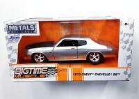 JADA 2019 METALS DIE CAST 1970 Chevy Chevelle SS Silver/Black Big Time Muscle 1:
