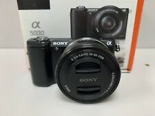 Sony Alpha A5000 20.1MP Digital Camera with 16-50mm Lens + 32GB Memory Card