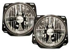 For VW Golf 2 MK2 Set Crystal Clear Chrome Headlight Head Light  GTI 83-92 LHD/