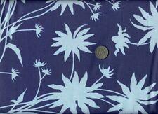 Westminster JOEL DEWBERRY *BLACK EYED SUSAN* Large-Scale Floral Fabric INDIGO lo
