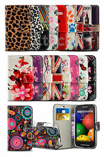 Alcatel OneTouch POP Star (3G) 5022X - Printed Pattern Card Wallet Case Cover