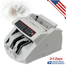 Money Bill Cash Counter Currency Count Bank Machine MG&UV Counterfeit Detector