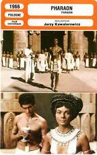 FICHE CINEMA : LE PHARAON - Zelnik,Mazurkiewicz 1966 Pharaoh/Faraon