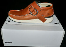 VISVIM SKYNYRD RING MOCCASIN Honey Brown Size US 10. NEW
